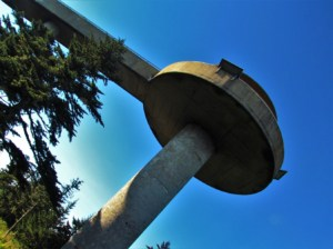 Clingmans Dome is the highest point in the Smoky Mountains.