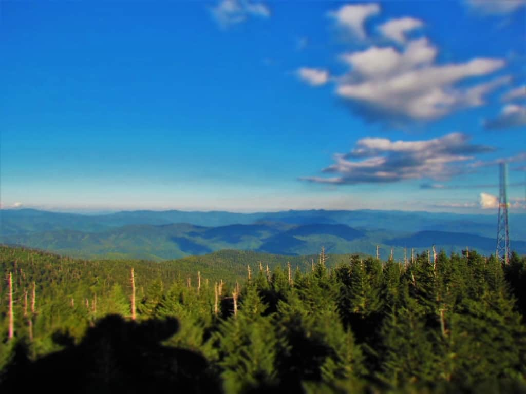 On a clear day, visitors can see up to 100 miles away, and seven states.