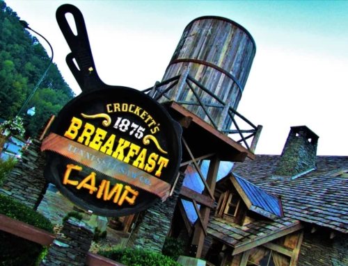 Frontier Food At Crockett's 1875 Breakfast Camp