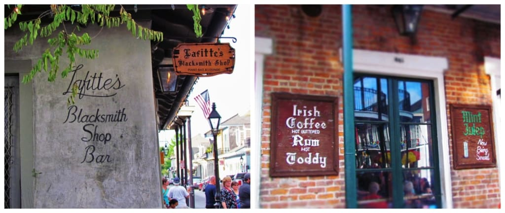 There are plenty of bars and nightclubs to be found in the French Quarter, including the oldest building in New Orleans.