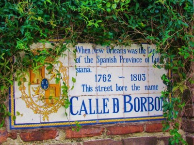 Bourbon Street is one of the most famous parts of the French Quarter.