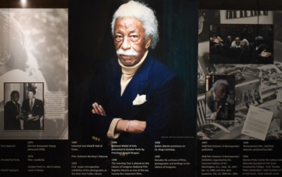 Gordon Parks is a Fort Scott native who rose to fame with his photography.
