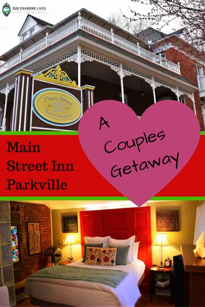 Main Street Inn-Parkville, Missouri-bed and breakfast-lodging-romance-couples getaway-couples escape-weekend getaway