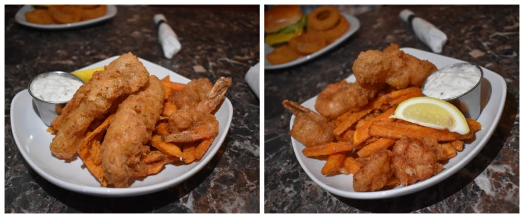 The Friday Fish Fry introduces a couple of extra items to the standard Fish and Chips meal.
