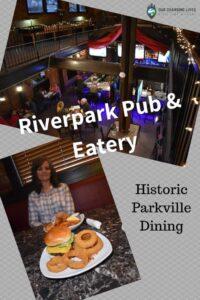 Historic Parkville Dining-Riverpark Pub & Eatery-Parkville restaurant-dining-burgers-Park College