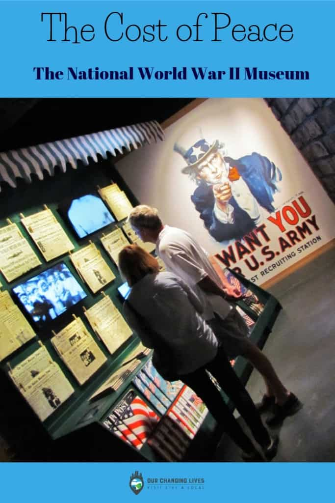 The Cost of Peace-National World War II Museum-New Orleans-Allied forces-Axis forces