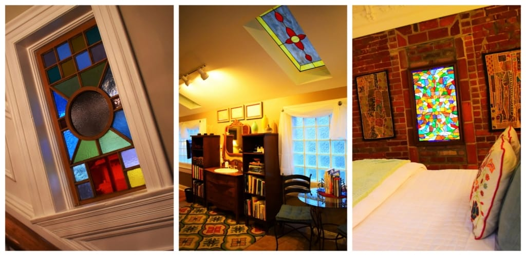 A couples getaway is extra special when you toss in the pops of color found at Main Street Inn.