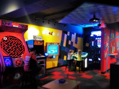 Visitors to the Guinness World Records attraction can play themselves into the record books.