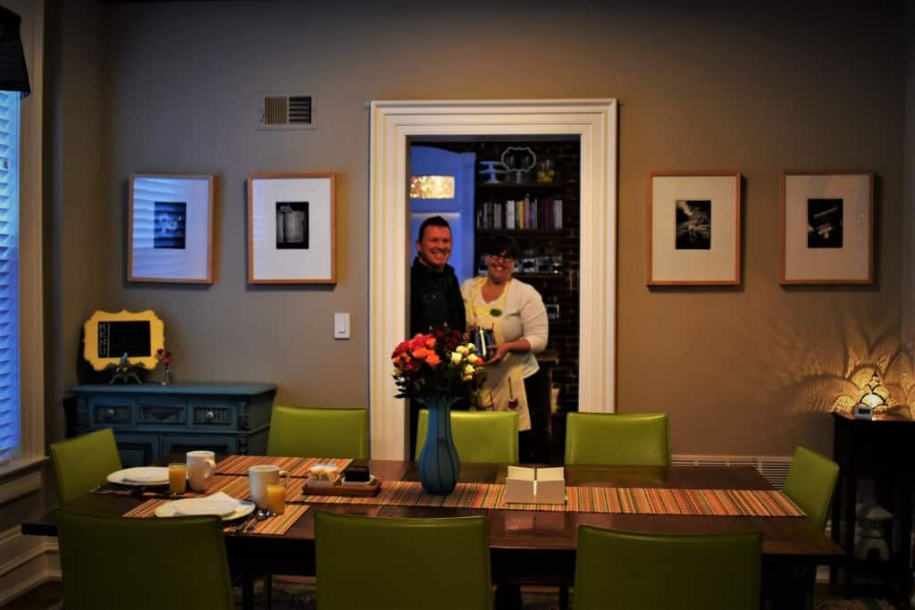 Our hosts know how to make guests feel at home when staying at Main Street Inn.