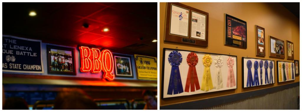 An Extensive amount of awards show that they are dedicated t producing great barbeque.