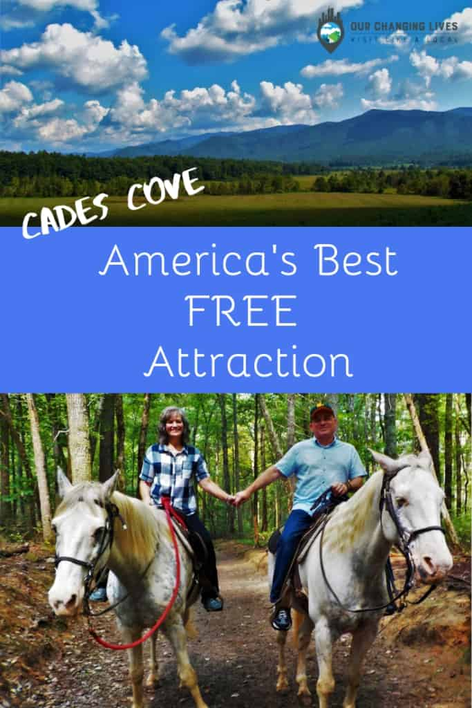 Cades Cove-America's Best Free Attraction-scenic views-nature-hiking-trail rides-Gatlinburg, Tennessee-Great Smoky Mountain National Park