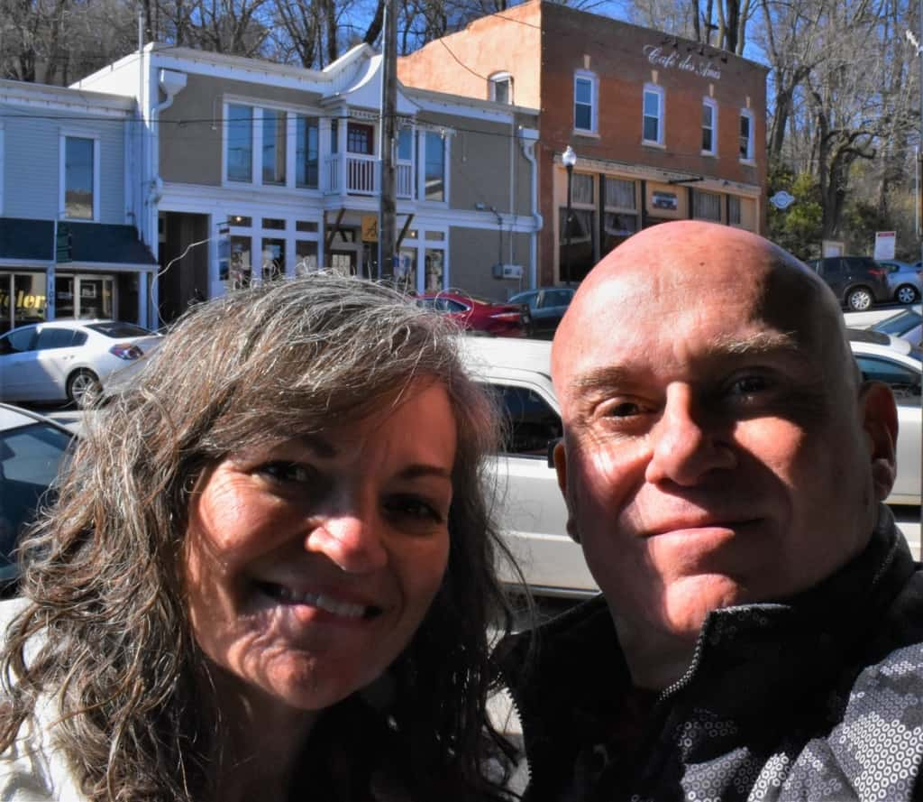 After an amazing rench cuisine meal at Cafe des Amis, we were ready to return to our day filled with exploring Parkville, Missouri.