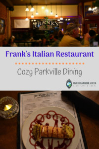 Frank's Italian Restaurant-Cozy Parkville dining-Italian cuisine-restaurant