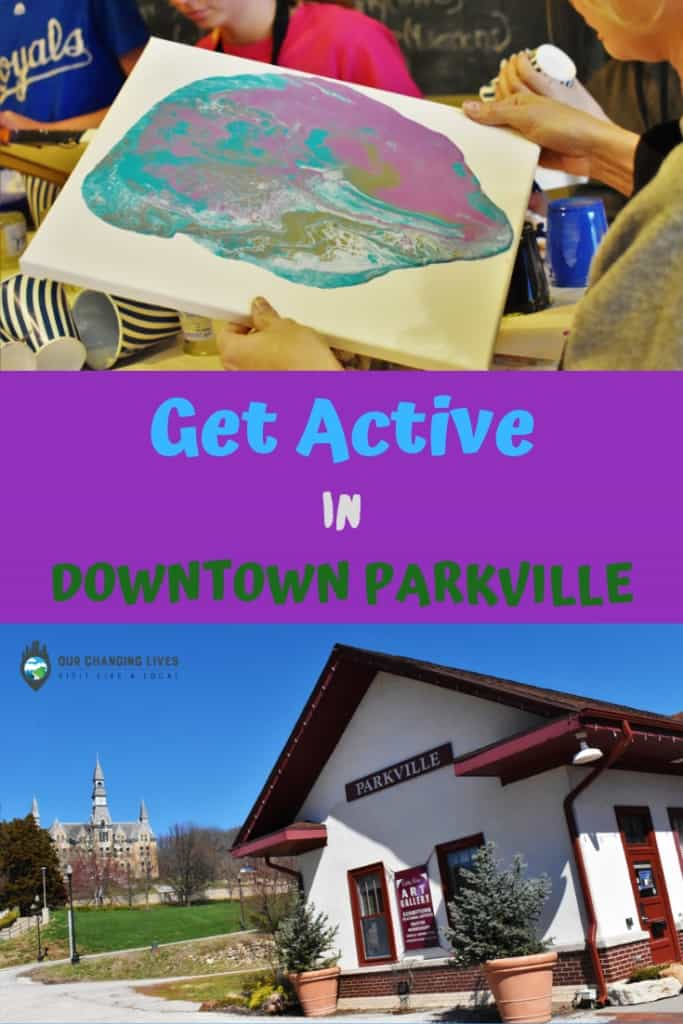 Get active in downtown Parkville-painting classes-mini golf-farmers market-yoga