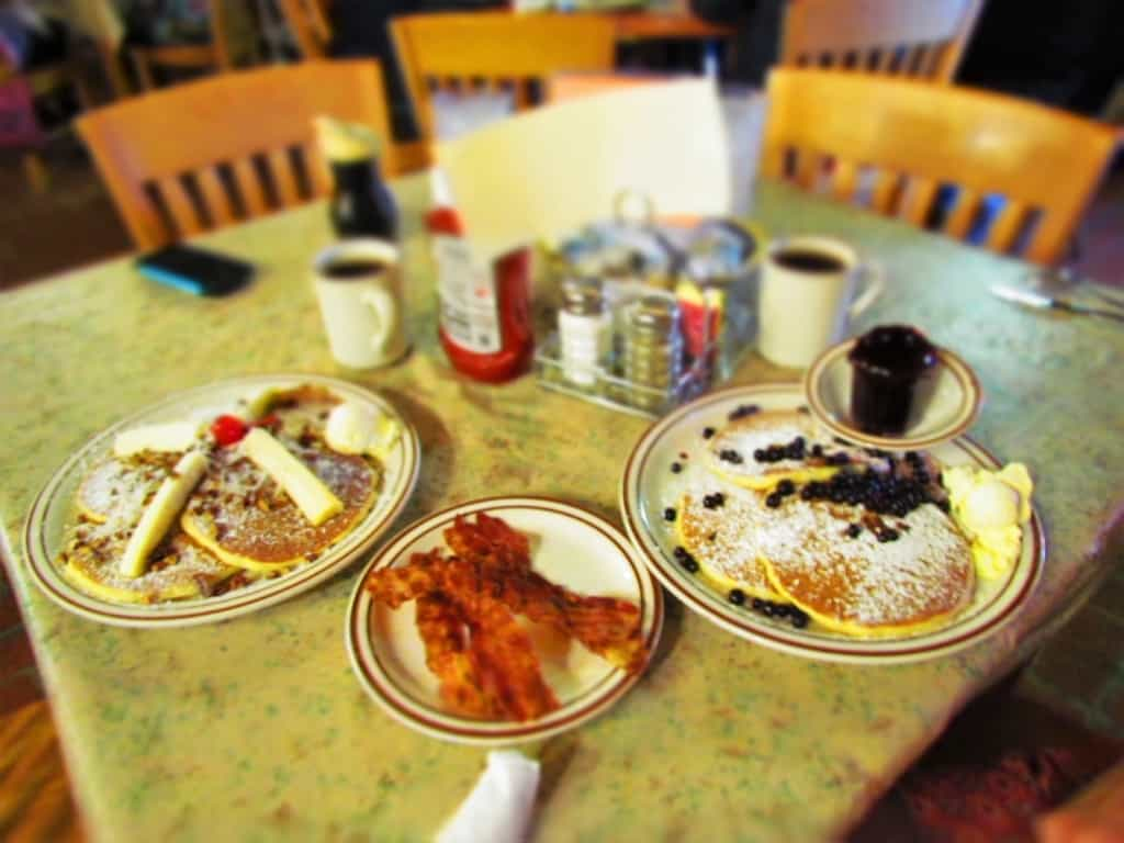 Unique pancake options awaited us during our Smoky Mountain Road Trip.