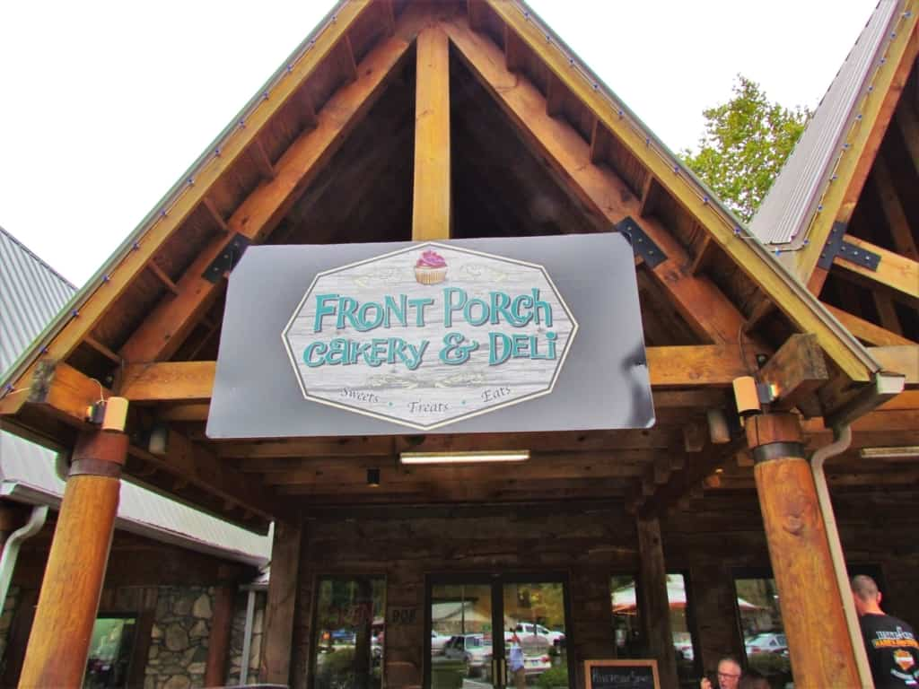 Front Porch Cakery and Deli was an unexpected find in Cherokee, North Carolina.