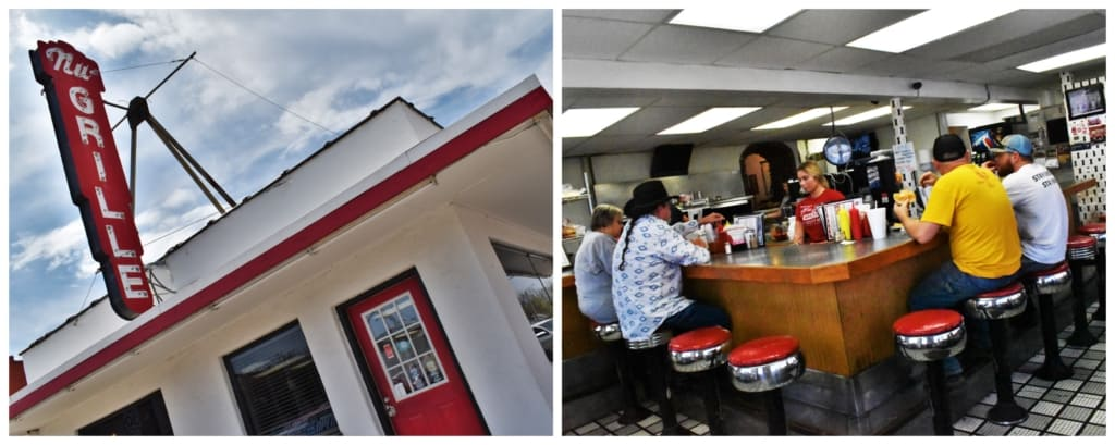 We were excited to find this old school diner in downtown Fort Scott.