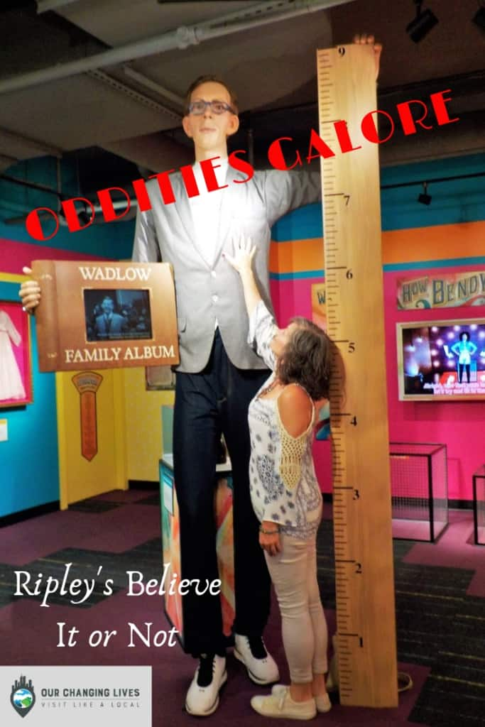 Oddities Galore-Ripley's Believe It or Not-Gatlinburg, Tennessee