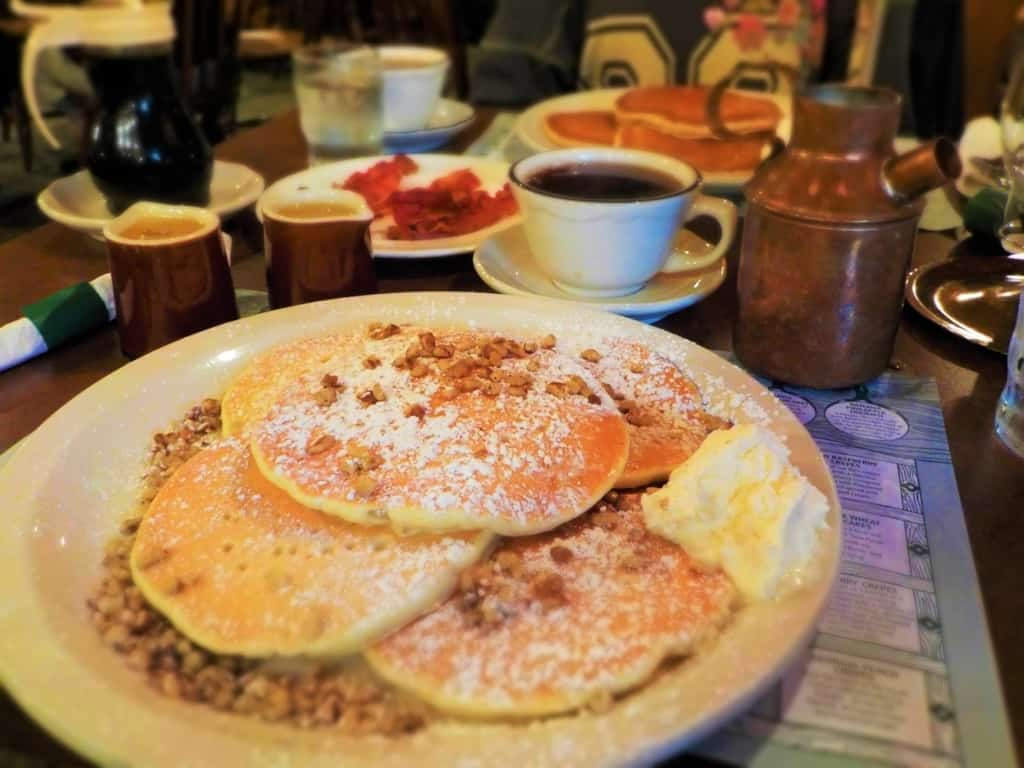 The Pecan Pancakes at Pancake Pantry were a perfect addition to the pancake tour of Gatlinburg.