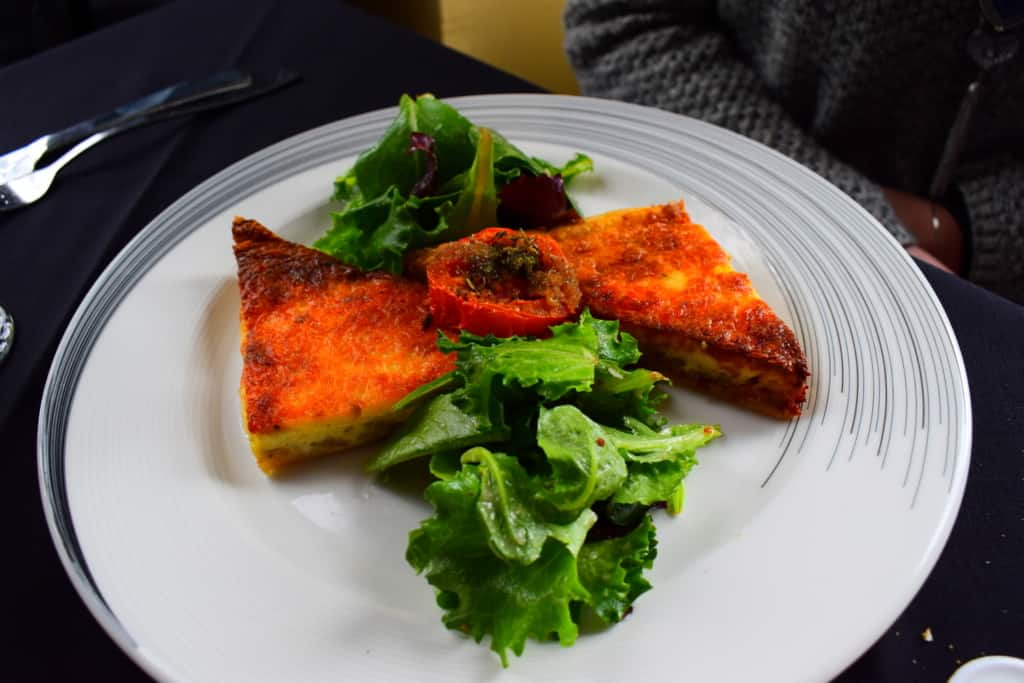 A plate of Quiche Lorraine is a notable highlight for any meal.