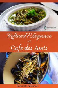 Cafe des Amis-Parkville, Missouri-restaurant-dining-French cuisine