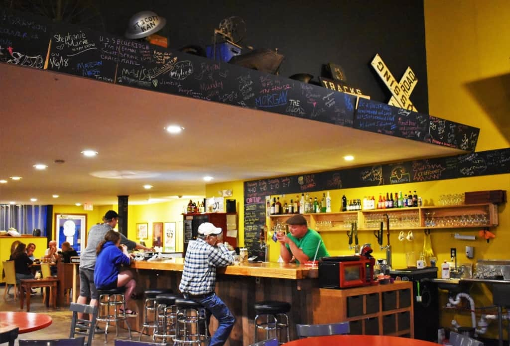 We were surprised to find that Fort Scott has a new microbrewery.