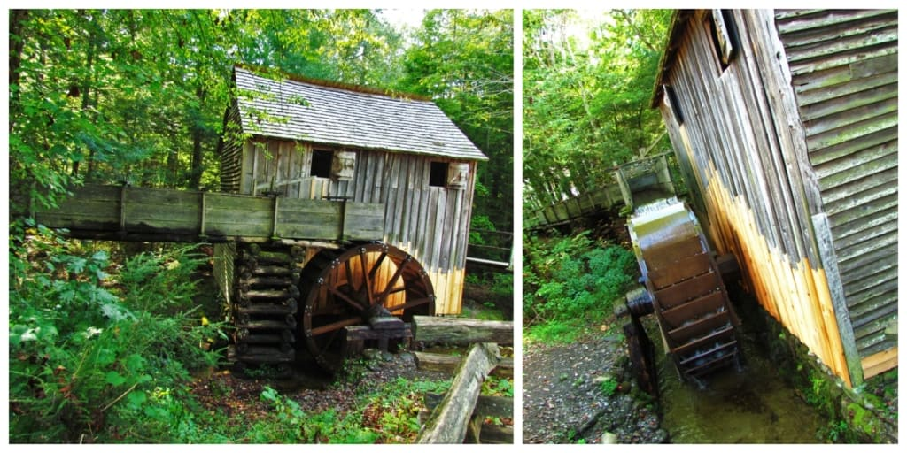 A working grist mill is one of the sites you can visit during a tour of America's best free attraction.
