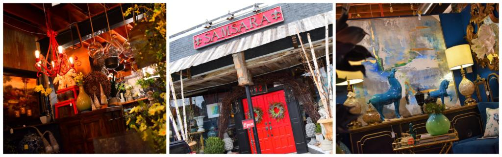 You can find some amazing home decor pieces at Samasara in Parkville.