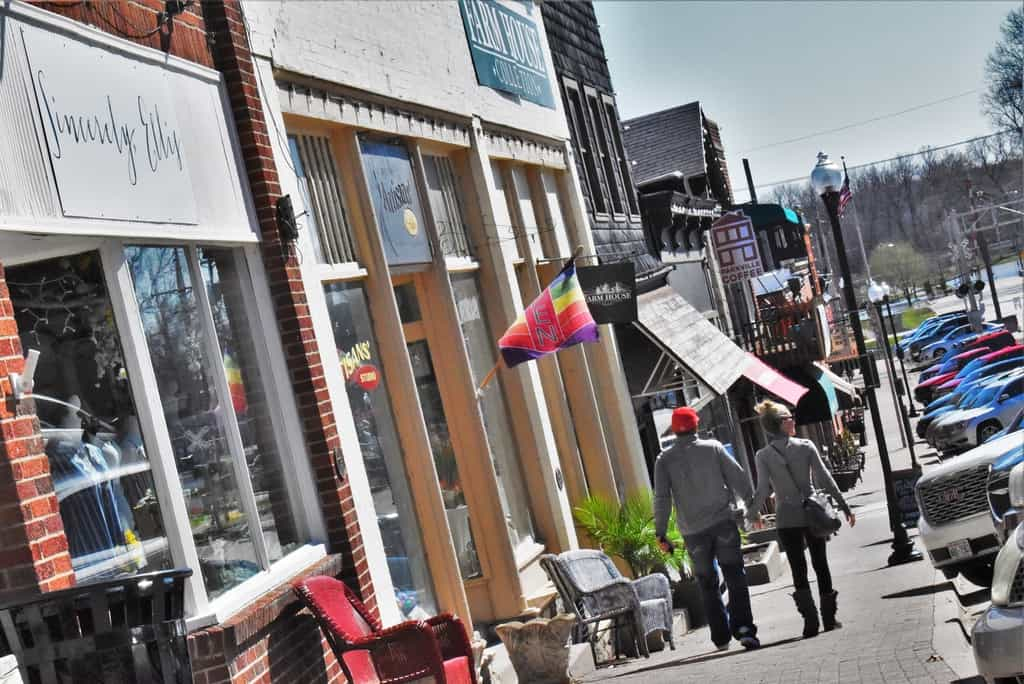 Strolling through Main Street Parkville gives visitors a chance to see Parkville shops through fresh eyes.