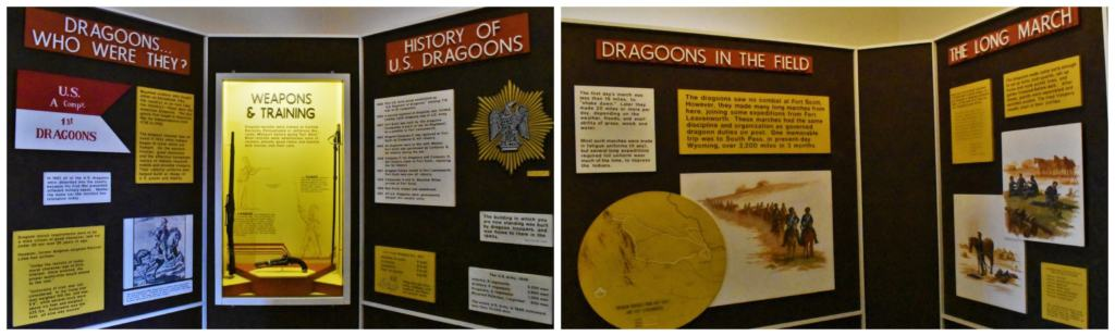 Learning about the dragoons is fun at Fort Scott.
