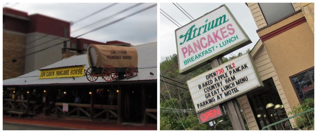 We quickly discovered that a pancake tour of Gatlinburg is easy to do in a town with so many options.