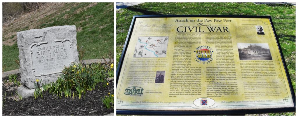 The Civil war played a significant role in the history of Parkville.