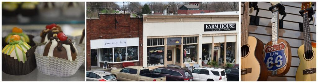 There are plenty of shopping opportunities during a couples escape in Parkville, Missouri.
