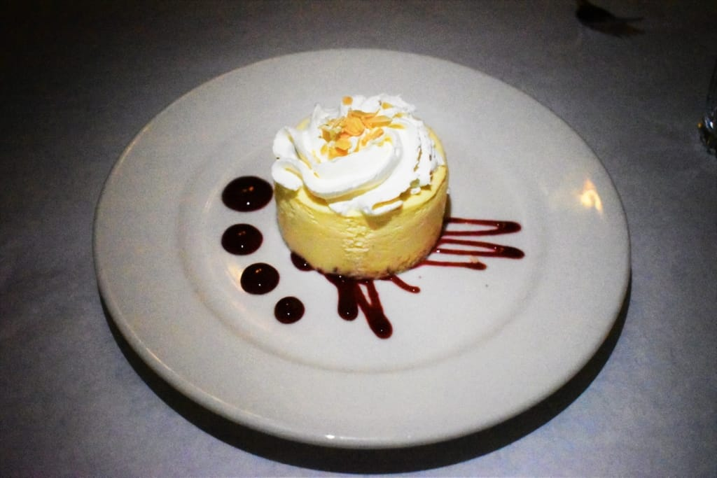 A serving of Lemon Cheesecake is as delightful to the eyes as it is to the taste buds.