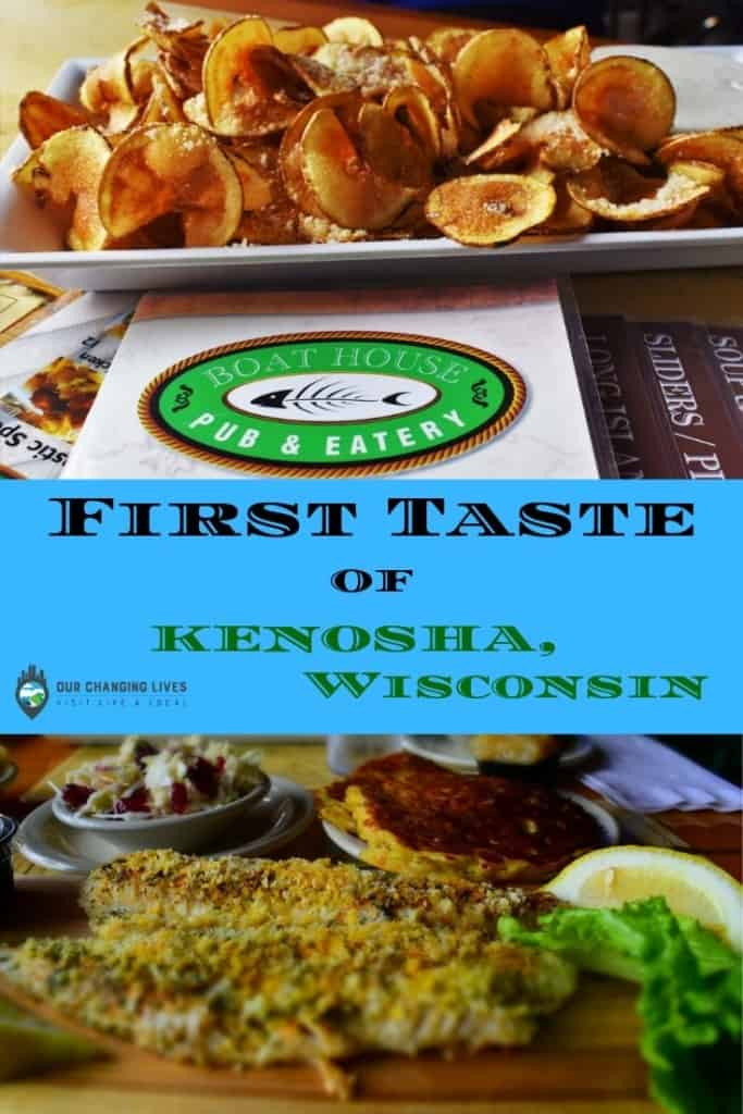 First Taste of Kenosha-Boat House Pub and Eatery-lunch-walleye-burgers-sandwiches-salads