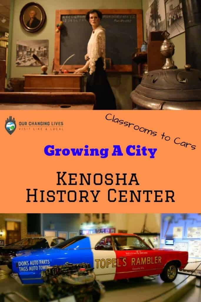 Growing a city-Kenosha History Center-Kenosha Wisconsin-automobiles-Lake Michigan-streetcars-Rambler-Jeffrey-AMC