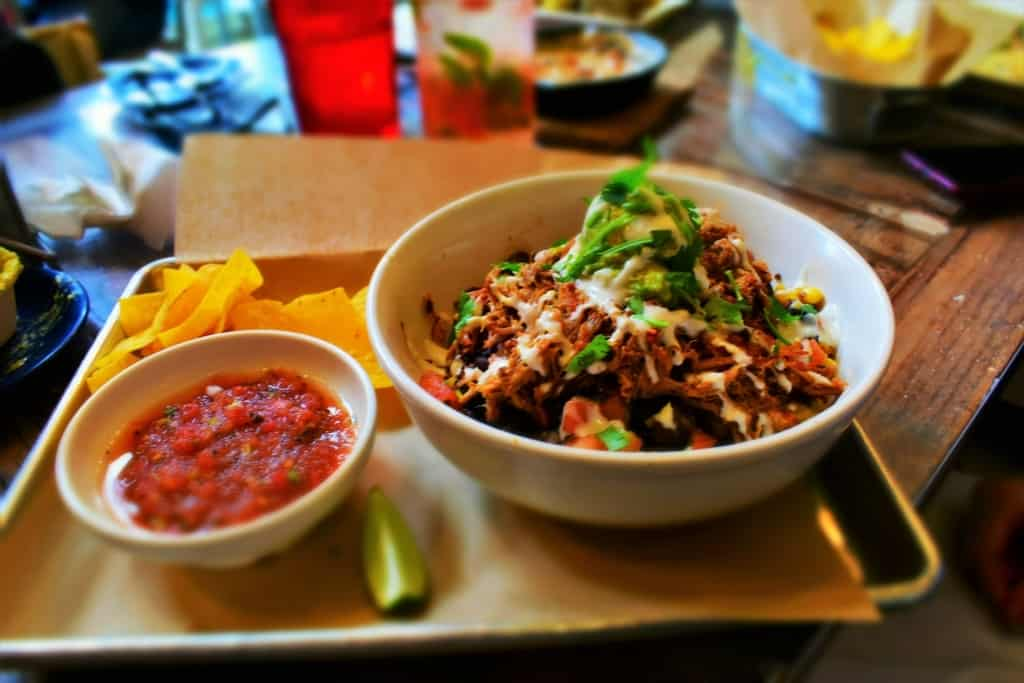 KC Taco Company offers mixed bowls that are a new twist on the old taco salad entree.