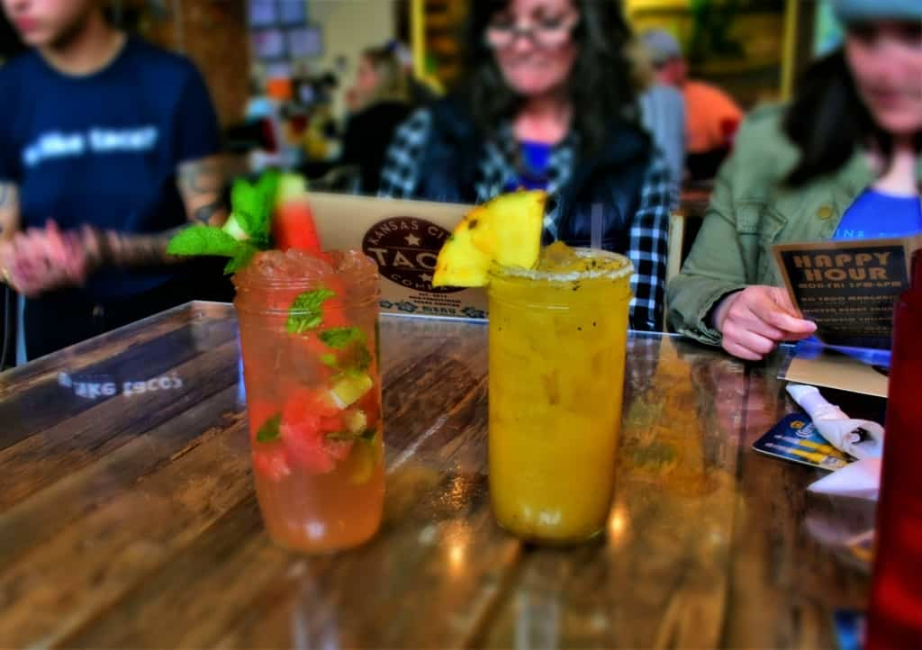 Happy Hour is the perfect excuse for some delectable drinks at KC Taco Company.