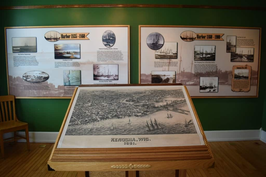 A visit to the Southport Light Station Museum helped shine a light on Kenosha Harbor and the history of this lakeside region.