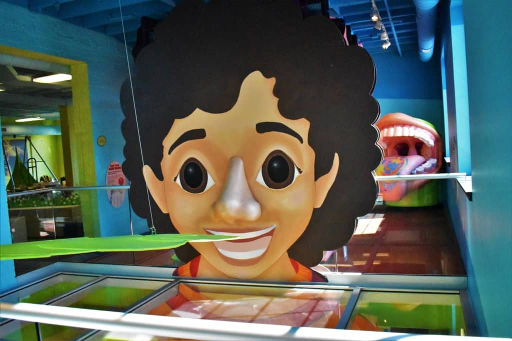 At Kidzeum, visitors can experience a wide range of interactive exhibits that teach visitors ways to get healthy.