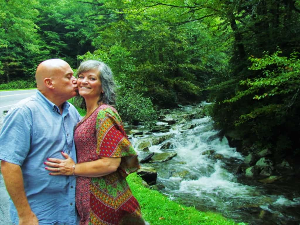 The authors found plenty of selfie spots in the great Smoky Mountain national Park.