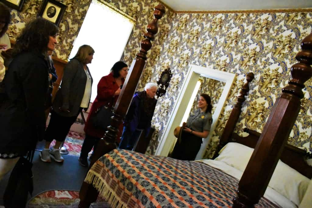 The Lincoln bedrooms are intriguing and to think that we are standing where Lincoln once stood is amazing.