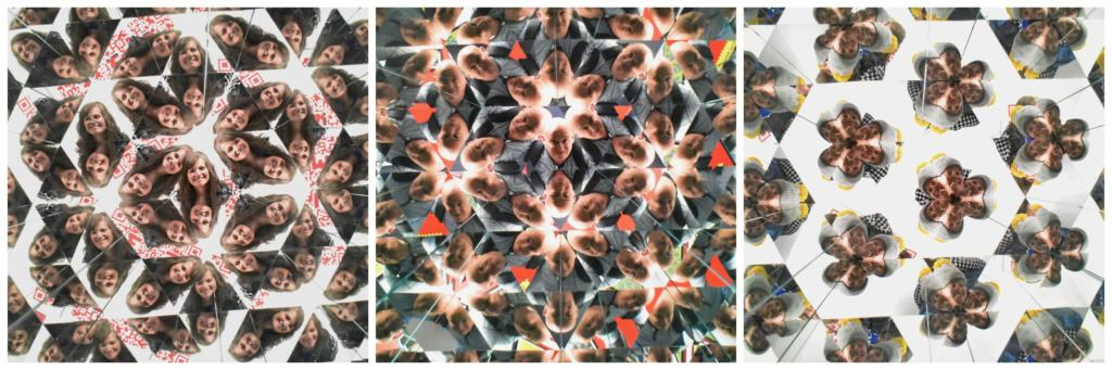 The Museum of Illusions KC has a human kaleidoscope in their repertoire of exhibits.