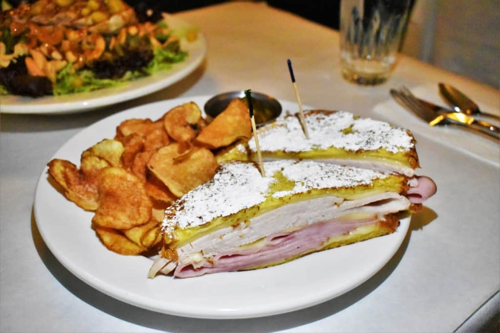 A Monte Cristo Sandwich is a classic dish that is picture perfect at Maldaner's Restaurant.