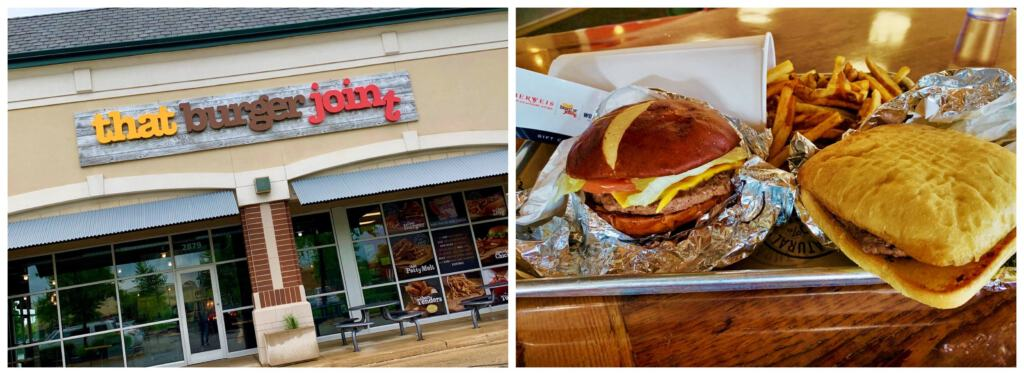 That Burger Joint is a sister company for Oberweis Dairy that serves up simple eats with some interesting options.