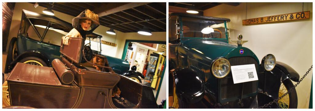 The Kenosha History Center helps visitors understand the close link that the city has with the automobile industry.