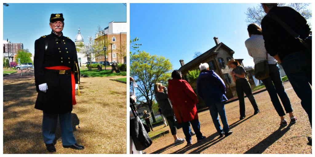 There are plenty of staff members and character actors to interact with when you explore the Lincoln home.