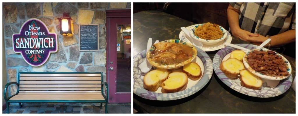 Finding a taste of New Orleans, in downtown Gatlinburg, was another bonus.