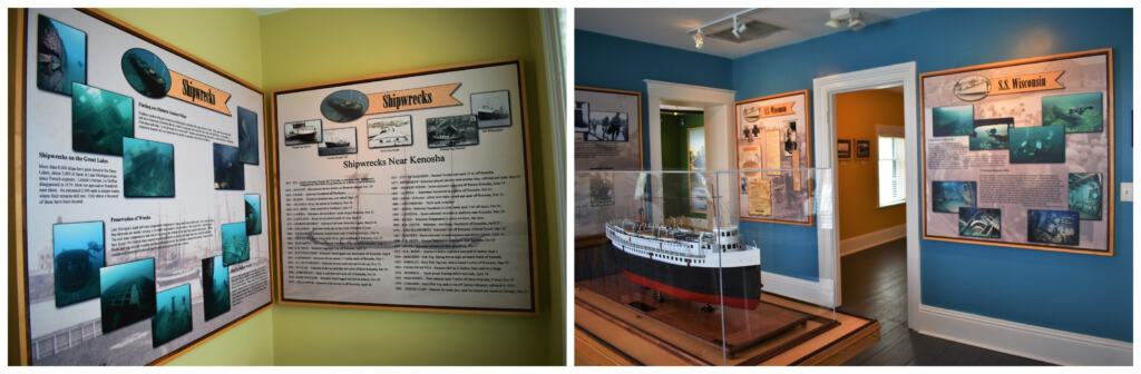 The Southport Light Station Museum offers a look at some of the shipwrecks in Lake Michigan.