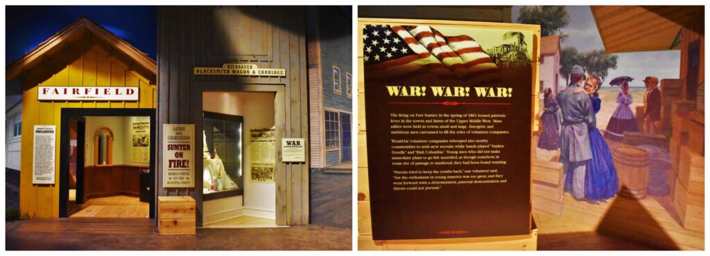 When war broke out, the residents of the Upper Midwest had mixed emotions about joining the battle.